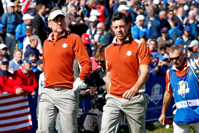Ian Poulter Rory McIlroy