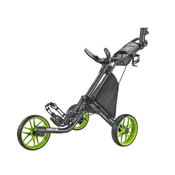 Caddytek EZ TOUR Quickfold Golfvagn med 3 Hjul - Limegrön