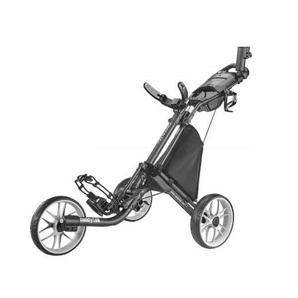 Caddytek EZ TOUR Quickfold Golfvagn med 3 Hjul - Mörkgrå