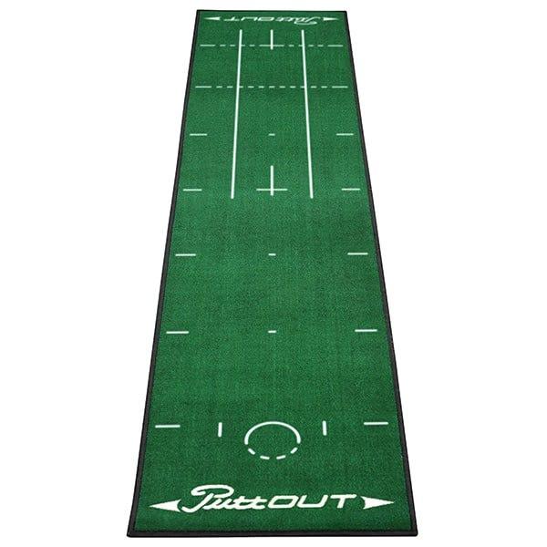 PuttOUT Putting Golf Mat-Green