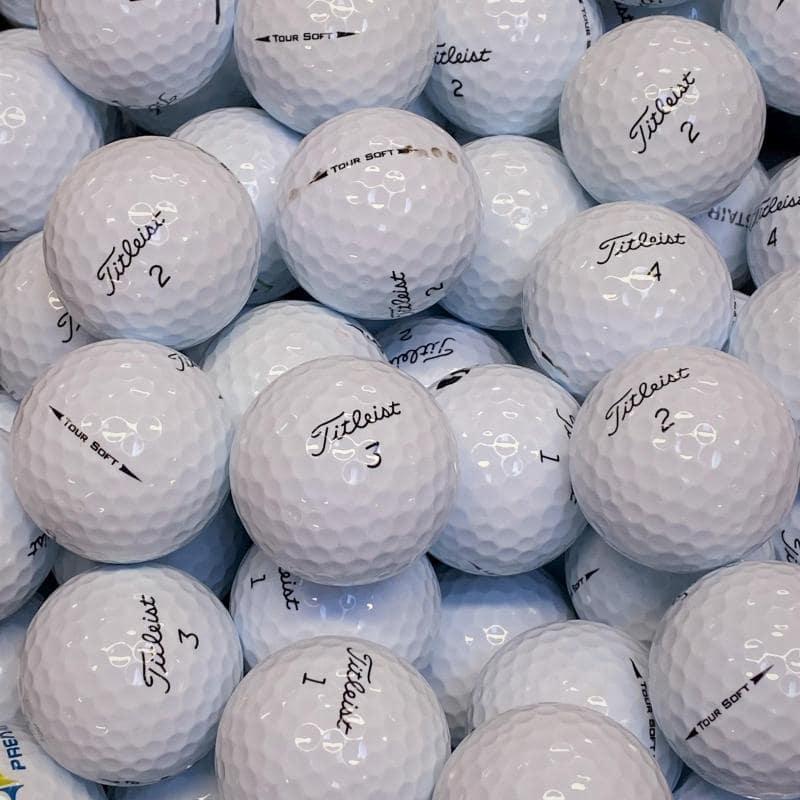 Titleist Tour Soft Klass A/B Golfbollar-12 Pack