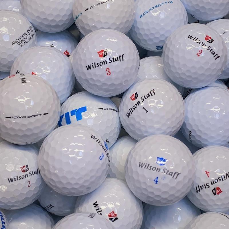 Wilson Mix Klass A/B Golfbollar -12 Pack