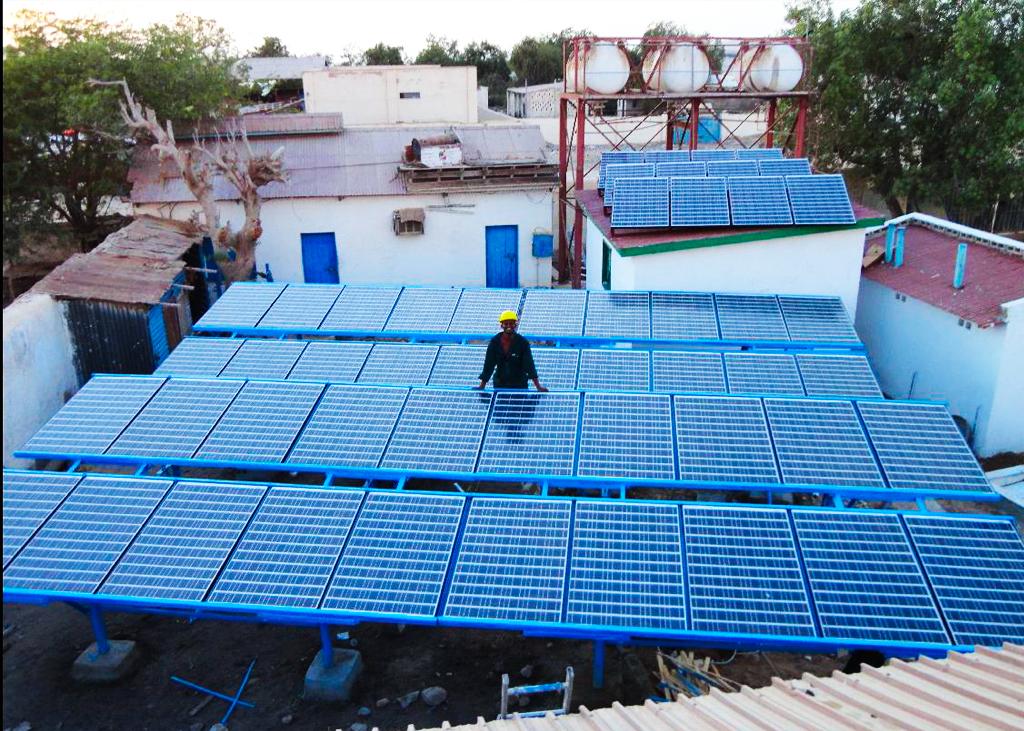 Solar Powering System Berbera Hospital 65kw