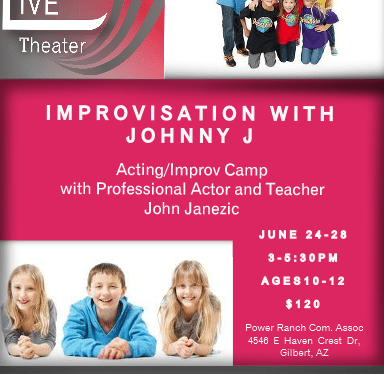 Improv Camp special offer