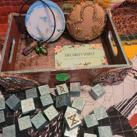 Steampunk Gift Set Tray