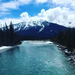 Simpson River in Kootenay National Park, Canada