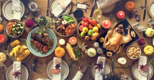 thanksgiving-history-traditions-food-spread