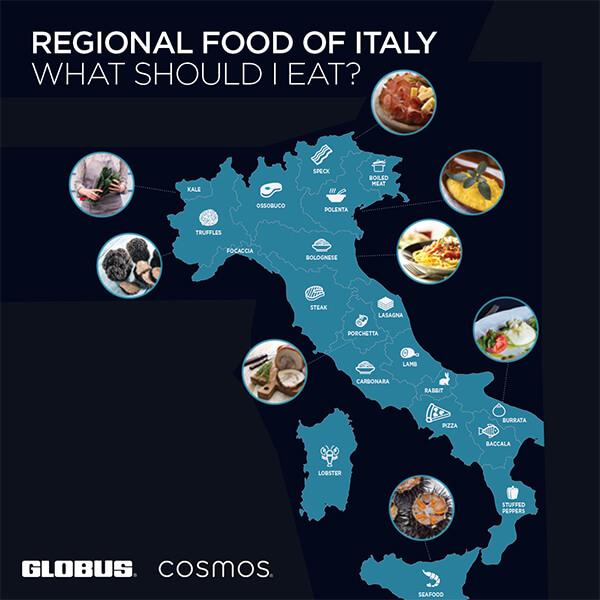 GFOB Italy food map