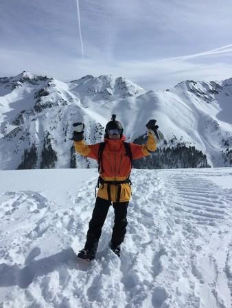 Mario at the top of Silverton Colorado – inspiring how Live Real Life was born