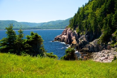 View while hiking the highlands on Cape Breton