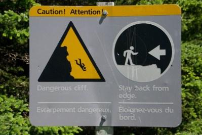 Dangerous Cliff - Take Note