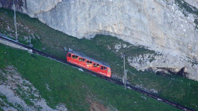 Cogwheel train to Pilatus-a