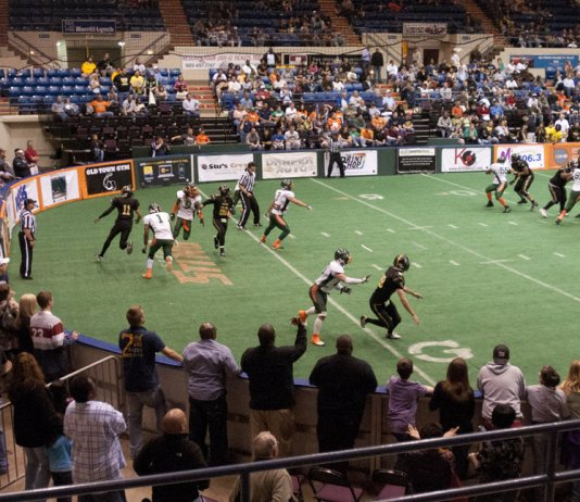watch live sports video online CIFL indoor football Explosion at Sting March 2nd 2014 live PPV
