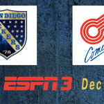 ESPN3 Game of the Week: Sockers at Comets 7:05pm CT Dec 27th