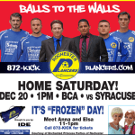 Eastern Division matchup: Syracuse at Rochester on Sat, Dec 20