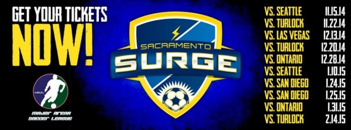 Doubleheader Game 2: San Diego at Sacramento Surge Jan 25th