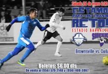 Dallas at Brownsville in MASL soccer Jan 24th