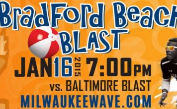 Jan 16th MASL soccer: Blast at Wave 7:05pm