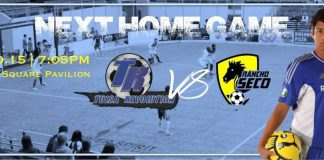 Saltillo at Tulsa Revolution Jan 30th in arena soccer action
