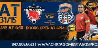 Major Arena Soccer League: Wichita B52s at Chicago Jan 31st