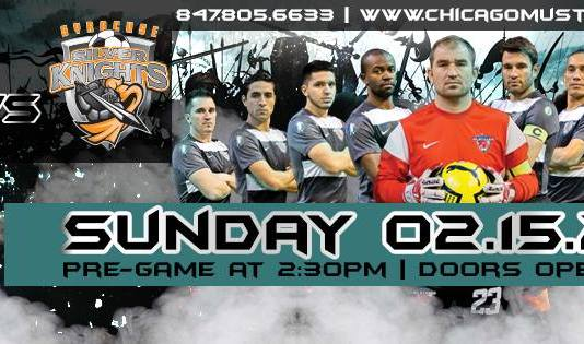 Arena soccer: Syracuse at Chicago Feb 15th 7pm CT
