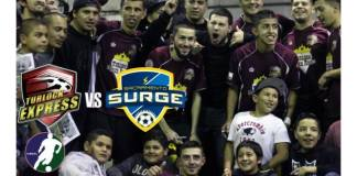 Major Arena Soccer: Sacramento Surge at Turlock Express Feb 13th