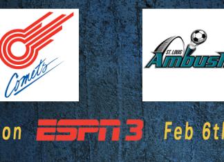 ESPN3 Game of the Week: Missouri Comets at St Louis Ambush Feb 6th