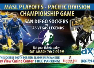 Pacific Coast Playoffs: Las Vegas at San Diego Mar 7th 7pm PT