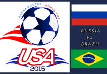World Cup 2015: Russia vs Brazil Mar 23rd 7:00pm ET