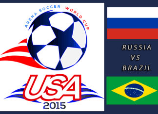 World Cup 2015: Russia vs Brazil Mar 23rd 7:00pm ET