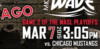 MASL Playoffs doubleheader: Chicago Mustangs at Milwaukee Wave Mar 7th