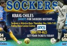 MASL West: Atletico Baja at San Diego Sockers Dec 10th 7pm PT