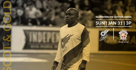 MASL: Baltimore Blast at Missouri Comets Jan 31st 3:05 pm CT
