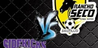 MASL Southwest: Dallas Sidekicks at Saltillo Rancho Seco Jan 8th, 8:05pm CT