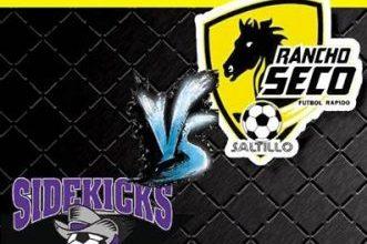 MASL Southwest: Dallas Sidekicks at Saltillo Rancho Seco Jan 8th, 8:05pm CT