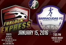 Brownsville at Turlock Express Jan 15th, 7:05pm PT