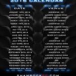 Shamrock FC MMA mixed martial arts fights event season calendar watch live video online