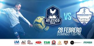 MASL Southwest: Brownsville Barracudas at Atletico Baja Feb 28th 2016 7:05pm PT
