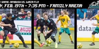 Detroit Waza at St Louis Ambush Feb 19th 2016 7:35pm CT