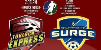 Sacramento at Turlock Express MASL soccer Feb 5th 2016, 7:05 pm