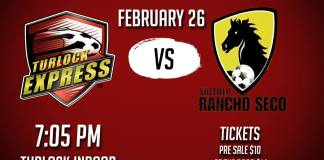 Saltillo Racho Seco at Turlock Express MASL soccer Feb 26th 2016, 7:05 pm