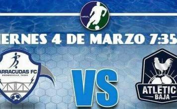 MASL South: Atletico Baja at Brownsville Barracudas March 4th, 2016