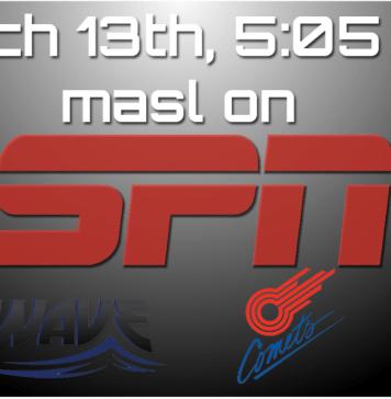 MASL Playoffs on ESPN 3 Milwaukee at Missouri 5:05pm ET