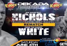 BOXING: Dekada Premiere Fight Night pro boxing webcast June 4th 9:30pm MDT