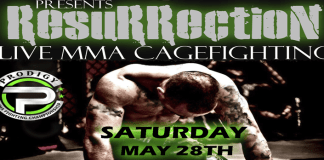 Prodigy MMA fights Pro/Ammy on May 28th 7pm ET LIVE