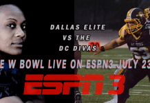 W Bowl 2016 on GLSC and ESPN Women's National Football Championship watch live