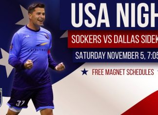 MASL: Dallas at San Diego Fri, Nov 5, 2016 07:05 PM