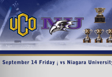 UCO hockey Sept 14th vs Niagara University