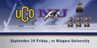 UCO hockey Sept 14th vs Niagara University