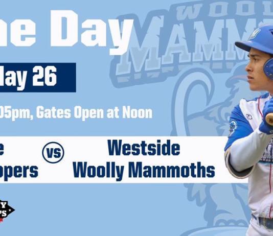Westside Woolly Mammoths vs Eastside Diamond Hoppers on 5/26/2019